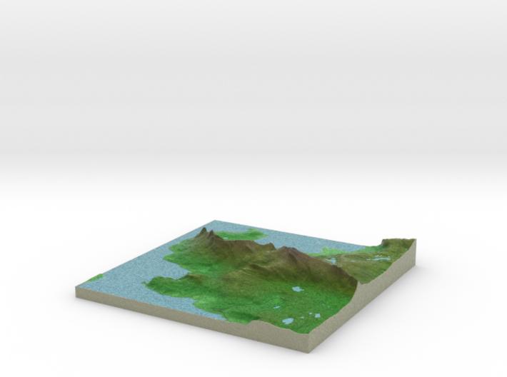 Terrafab generated model Mon Dec 09 2013 11:39:02 3d printed