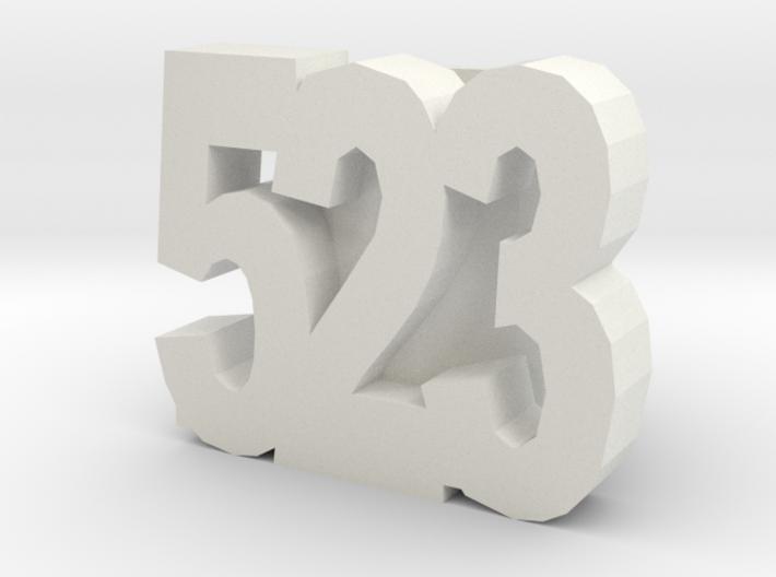 523slide 3d printed