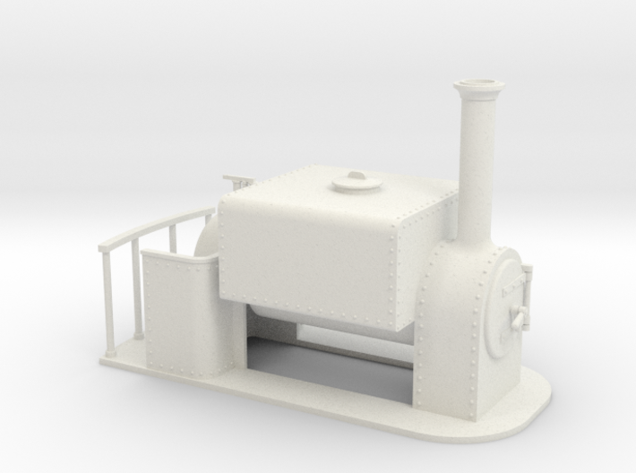 On16.5 square saddle tank loco 3d printed