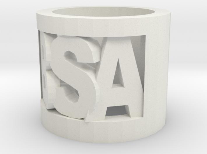 Bsa Cutout Slide 3d printed