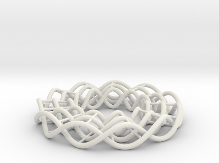 Hexagonal interconnected cell 3d printed