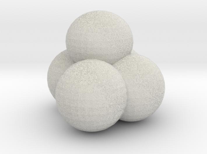 Snow Ball Pile 3d printed