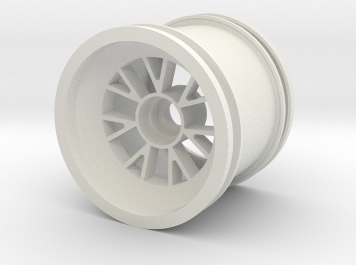 Rain wheel for Ferrari F1 2007 front 1:7  3d printed