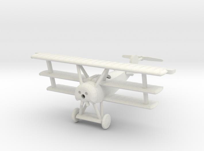 1/144 Fokker Dr.I 3d printed