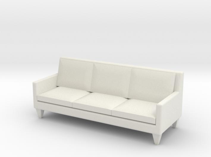 1:24 Contemporary Sofa 3d printed