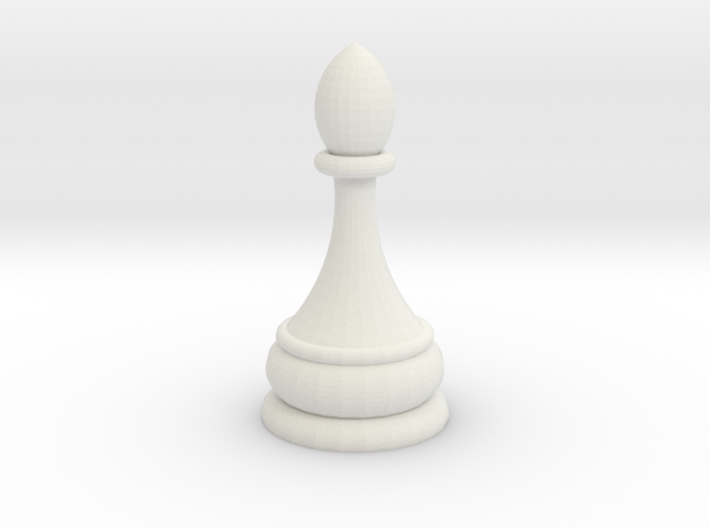 dtre pawn 3d printed