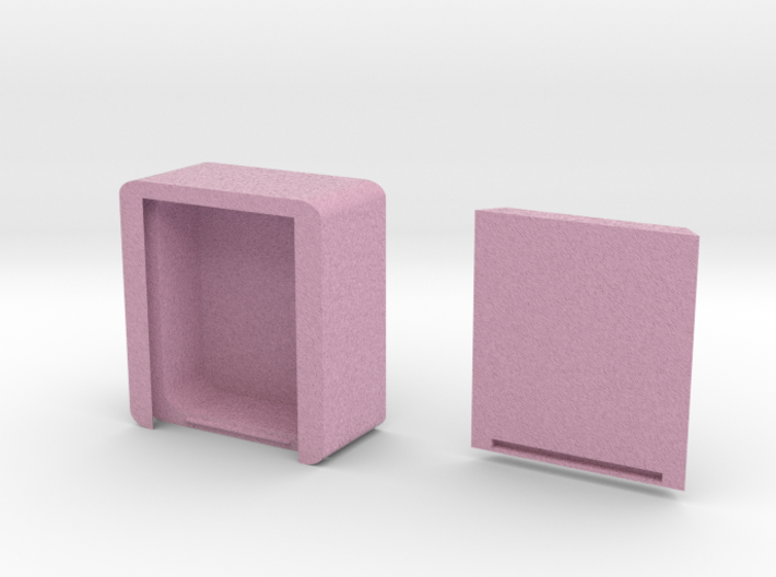 Box With Sliding Top By Txoof resized and Heart By 3d printed