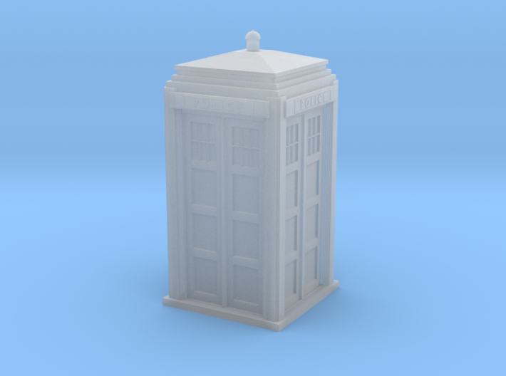 Police Signal (telephone) Box - OO (1:76) scale 3d printed