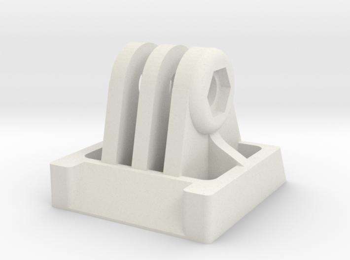 GoPro bracket for SteadiCam Smoothee 3d printed