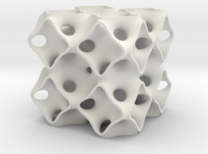 Schoen's OCTO surface 2x2x2 3d printed