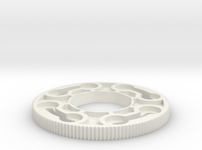 Sanwa JLW series octagonal restrictor plate 3d printed