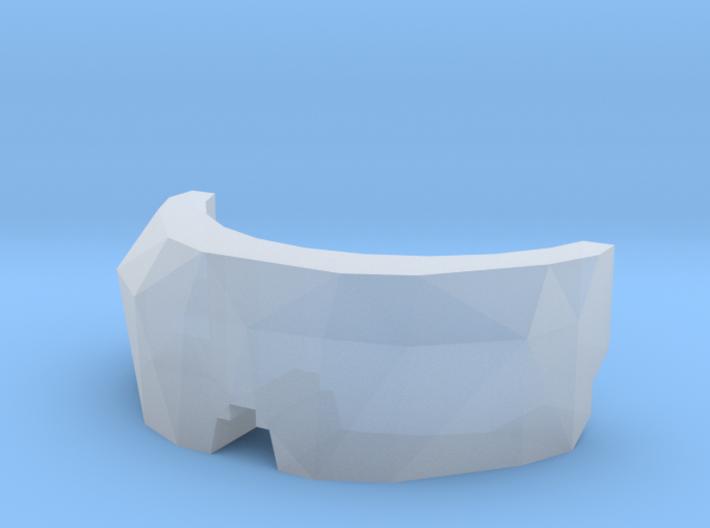 Grenadier Visor 3d printed