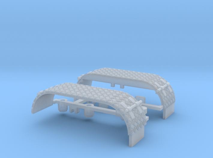 Kotflügel-doppel mit Krähenfußblech-neu -WLF 3d printed