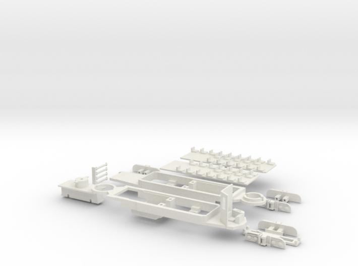 Rom Stanga chassis 3d printed