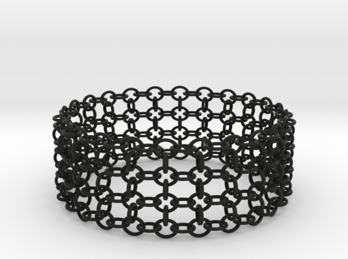 3in Shogun Bracelet 3d printed