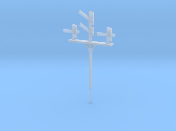 N Gauge Triple Junction Signal 3d printed