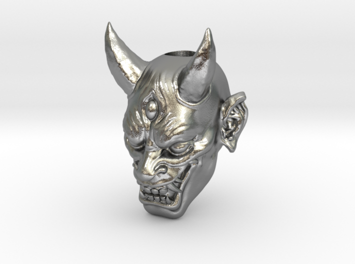 Japanese Hannya Demon Bead - Coming Soon 3d printed