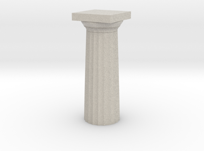 Parthenon Column Top 1:100 3d printed