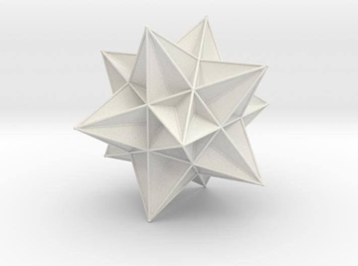 Great Icosahedron 3d printed