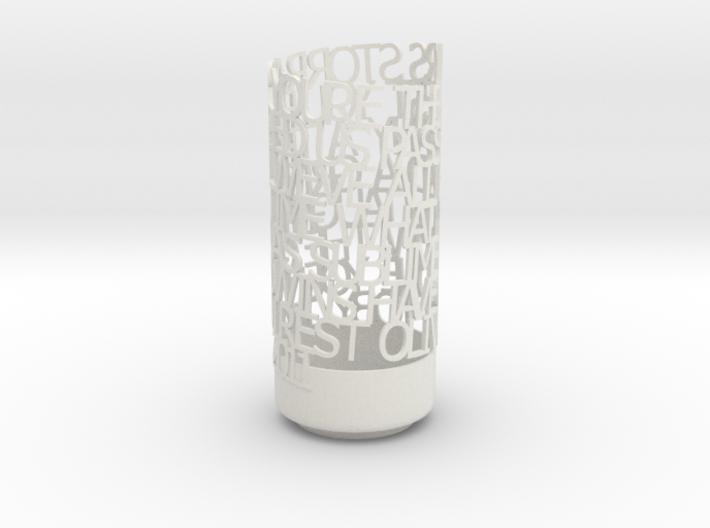 Light Poem - Storrar White 3d printed