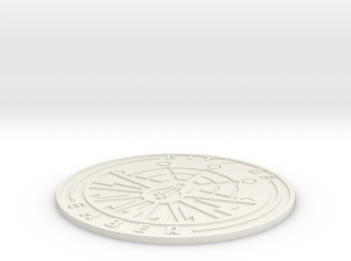 City of Ember Emblem 3d printed
