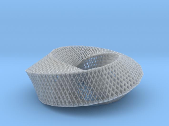 Fibonacci Mobius Loop 3d printed