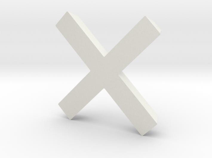 Cross - 2 3d printed
