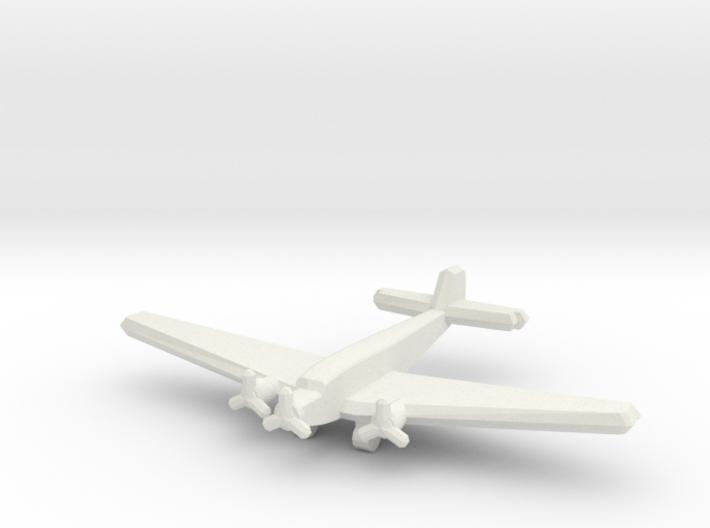 Ju 52/3mge (single) 1:900 3d printed