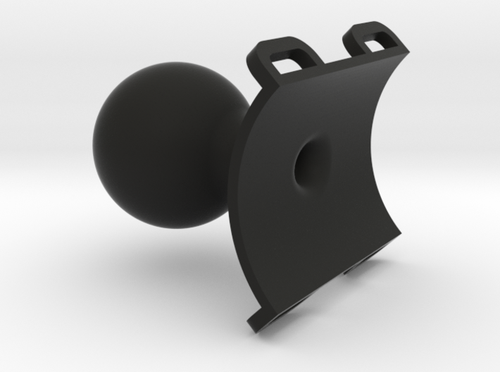 Tube Clamp RAM 1.5 In Hollow 3d printed