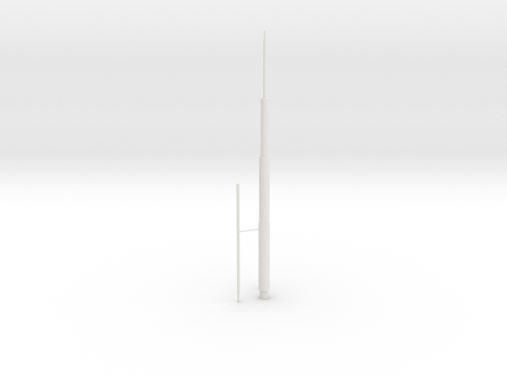 Willis Tower Antennae (Hollow) Left 3d printed