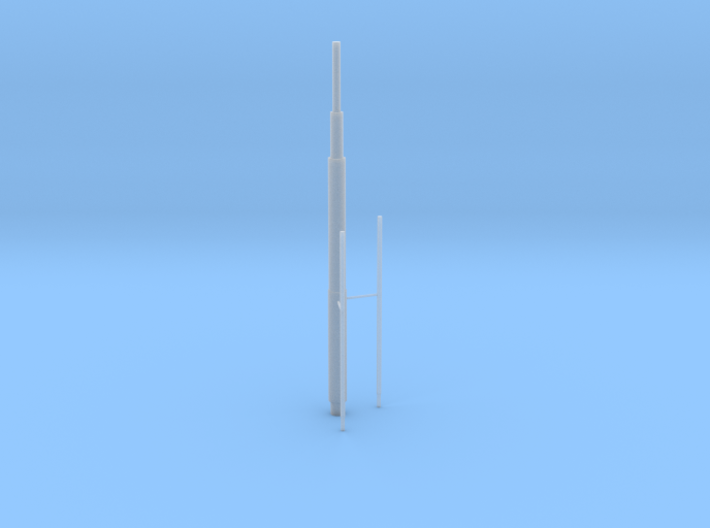 Willis Tower Antennae (Hollow) Right 3d printed