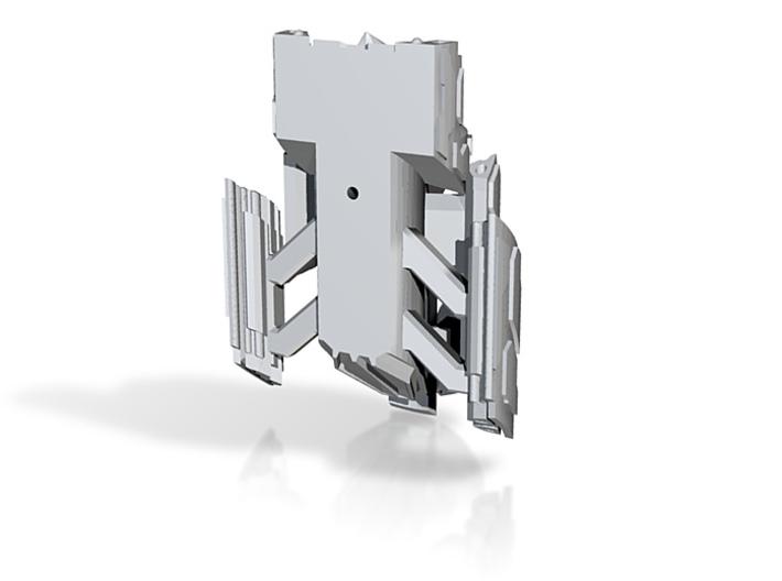 GateCrasherMissile whole 4in 3d printed