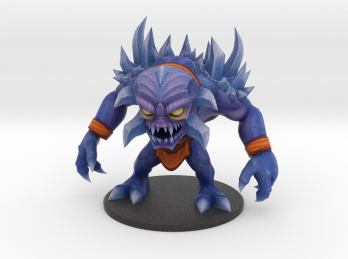 Alien Frost Giant - Ninja Time Pirates 3d printed