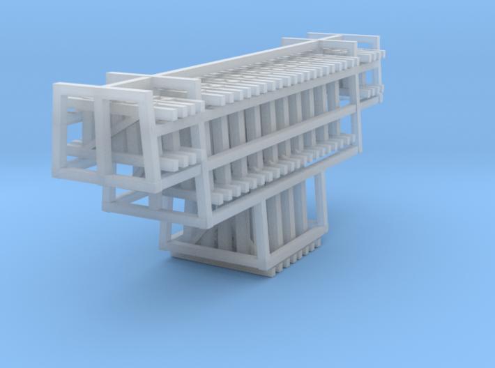 Bents Wood Trestle 3d printed