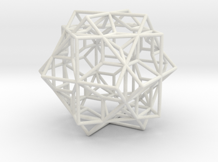 larger 3 cubes escher 3d printed