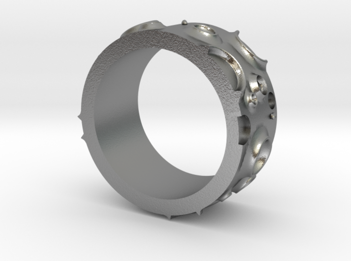 Asteroid Ring 3d printed