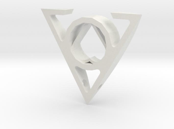 TriHeart 3d printed