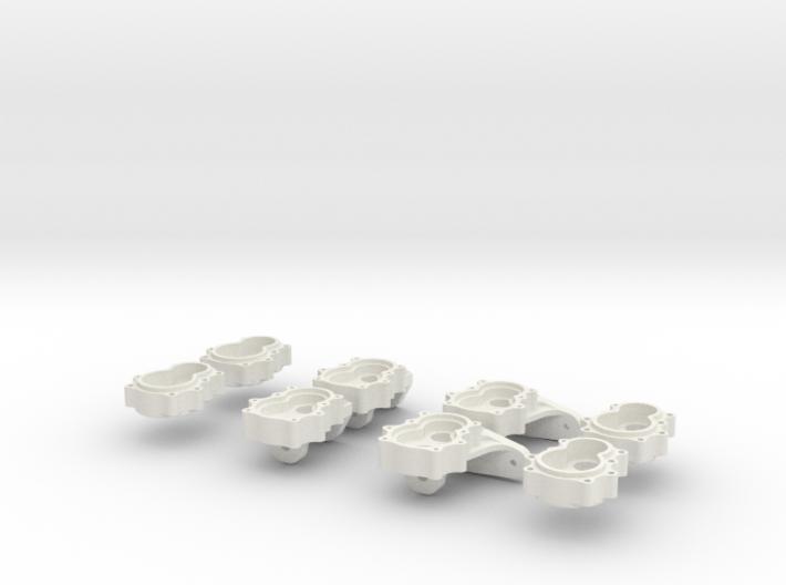 4 Portalachsen / Portal Axles v1.0 for Losi MRC 3d printed