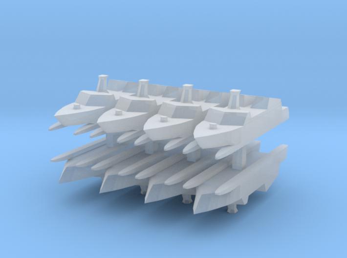 Type 022 1:2400 x8 3d printed