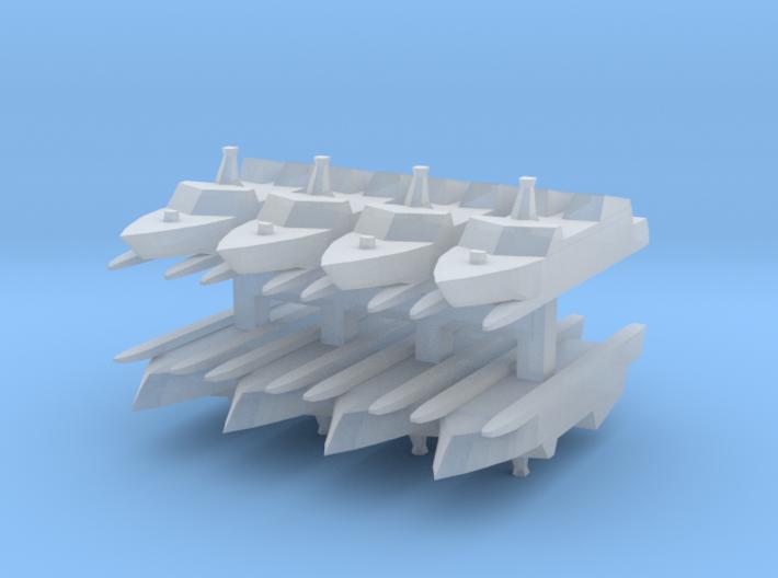 Type 022 1:3000 x8 3d printed