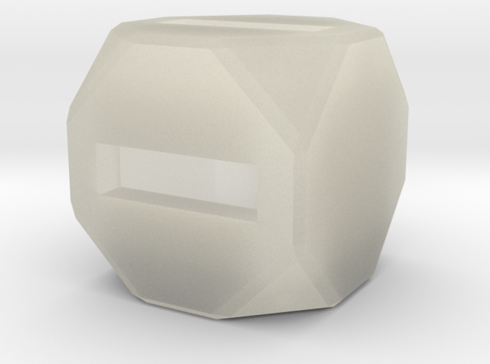 Fudge Dice 3d printed