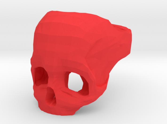 Skull Ring US 12 3d printed
