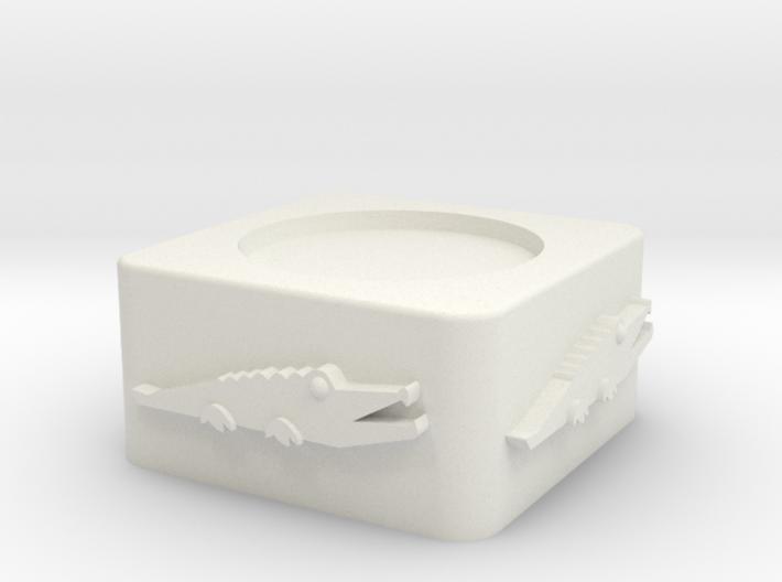 Croc Egg Cup Unshelled 3d printed
