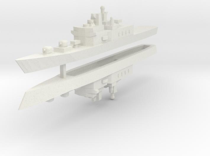 JMSDF Shirane Class DDH-144 1:2400 x2 3d printed