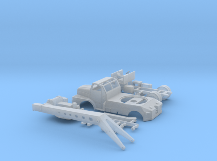 Autokran ADK63-1 in Spur TT (1:120) 3d printed