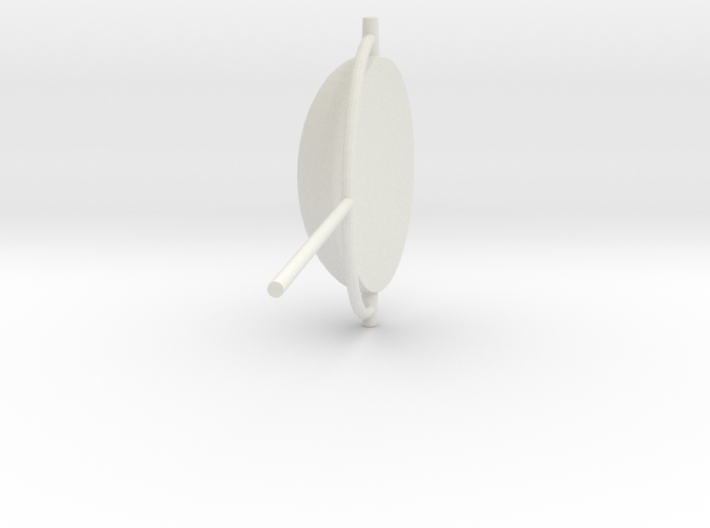 UFO telly 3d printed