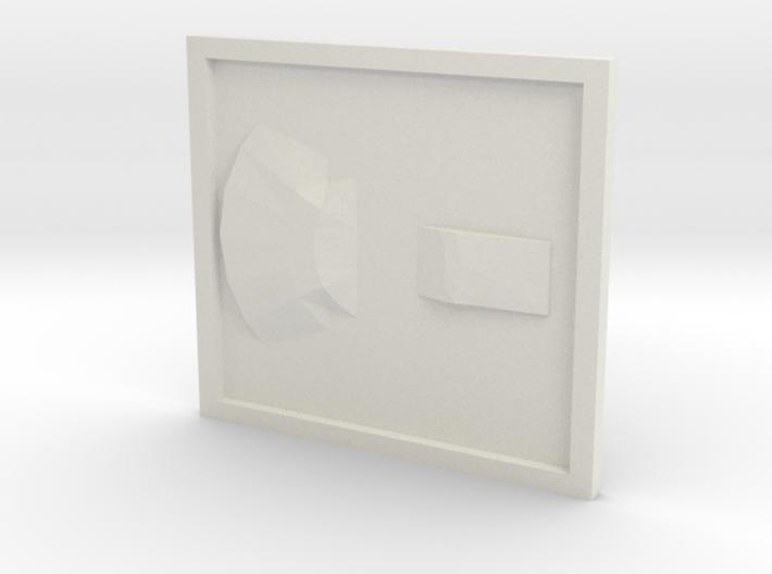 UFO base2 3d printed