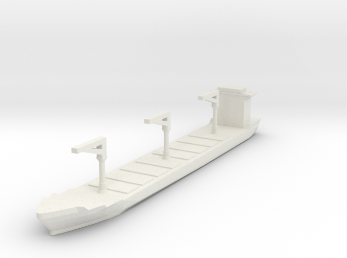 Xiamen Container Ship 1:3000 3d printed