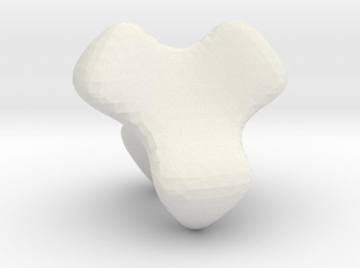 McMullen's K4 tetrahedon 3d printed