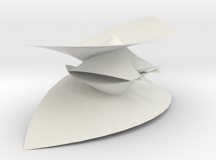 Mimimal Pisot polynomial projection doubled 3d printed